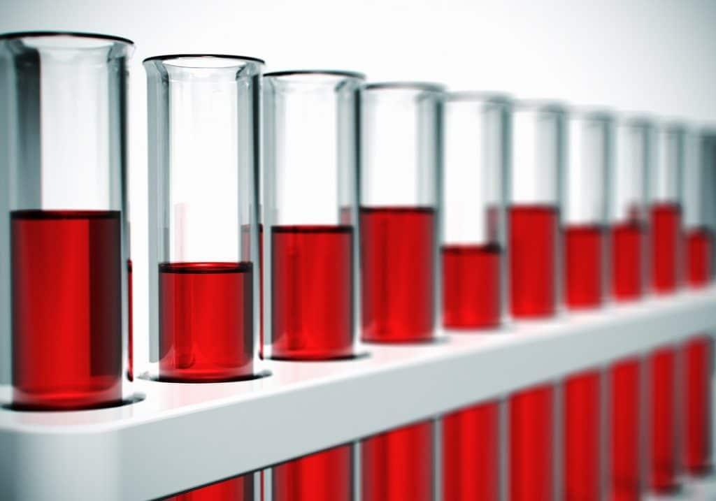 Hälsoanalys och hälsokontroll med blodprov